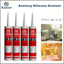sealing use high density glass fiber silicone glue
