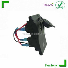 Auxiliary headlight bulb 12v Surface Mount Dual USB power lighter socket