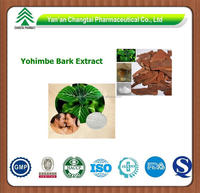 GMP factory supply wholesale herb Yohimbe Bark Extract