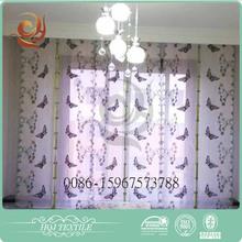 Window valance design Bedroom use Fashion sun zero valance
