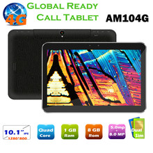 Brand new 10.1 inch HD IPS 1GB Ram 8GB build MTK8732 Quadcore Android 4G LTE tablet