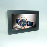 HD LCD/LED screen 1024*600 ultra-thin shell video+music+photo 7'' inch lcd digital photo frame