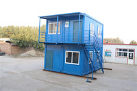prefabricated demountable waterproof tiny  prefab all star container house