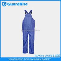 GuardRite Brand Cheap Flame Retardant Denim FR Bib Overall