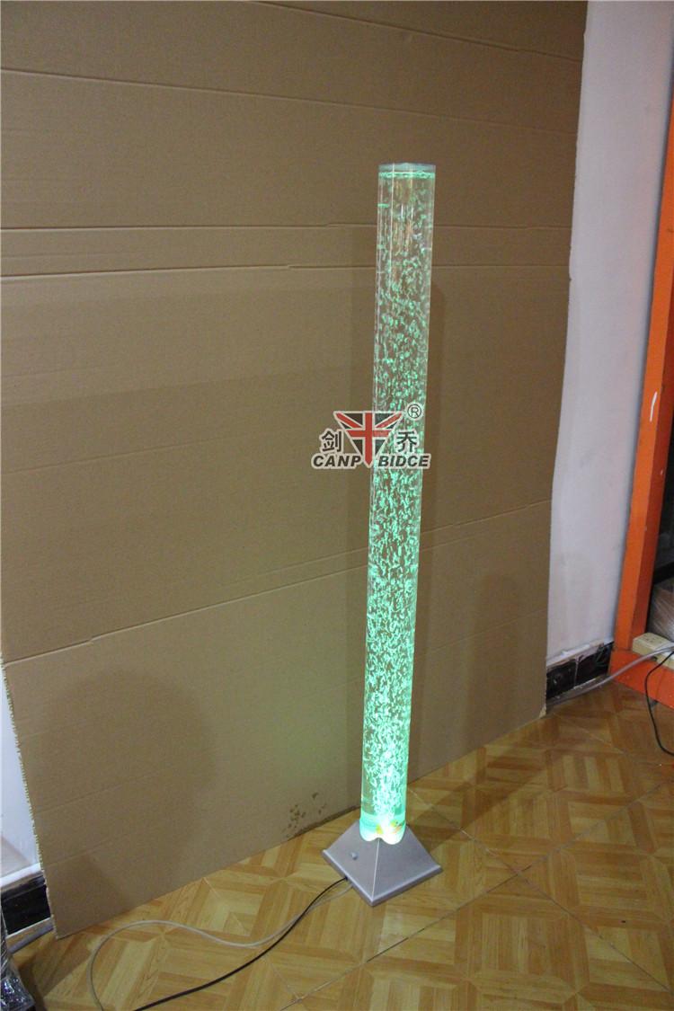 Indoor led tube bubble ontwerp vloer staande lampen verlichting ...