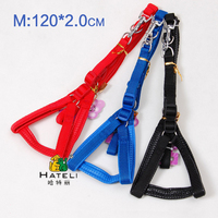Pet pet dog dog supplies traction rope for VIP without Pomeranian dog collar 120*2.0cm