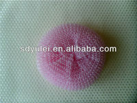 plastic cleaning ball for household
