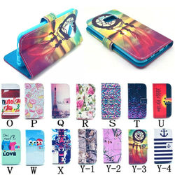 For Samsung S6 Leather Case ,Colorful Leather Case For Samsung S6
