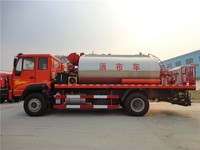 Hot sale china emulsion asphalt sprayer asphalt distribution truck