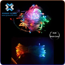 2015 christmas Cheap Super Bright Multicolored strobe light string for holiday party wedding decoration
