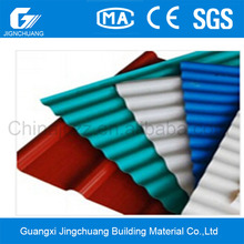 New Style corrugated Synthetic Roofing tile / pvc Plastic Roof Tile / spanish style roof tiles