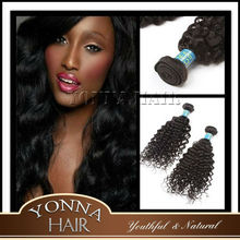 2015 Alibaba china hot sell kinky curly hair extension Indian hair