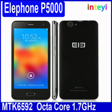 5.0 inch ELEPHONE P5000 MTK6592 Octa Core 2GB/16GB Android 4.4 3G WCDMA 8.0MP+16.0MP NFC GPS Smart mobile phone