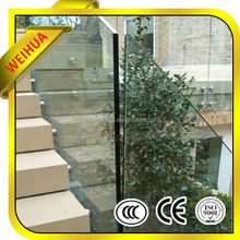LT 8mm 10mm 12mm tempered glass fence panles with AS CE certifications