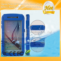 For Samsung Galaxy S6 Waterproof Case for Mobile Phone With Button