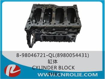 engine parts OEM 8-98046-721 auto engine 700P 4HK1 engine cylinder block