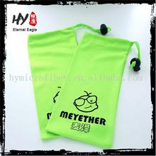 Professional hot selling cosmetic microfiber pouch /glass fiber dust collector bags