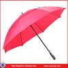 Auto Open Golf Umbrella With Grip Rubber Handle