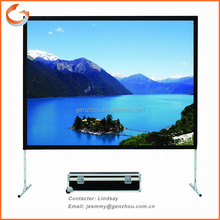 High quality Fast Fold Portable Projection Screen /Different size available/