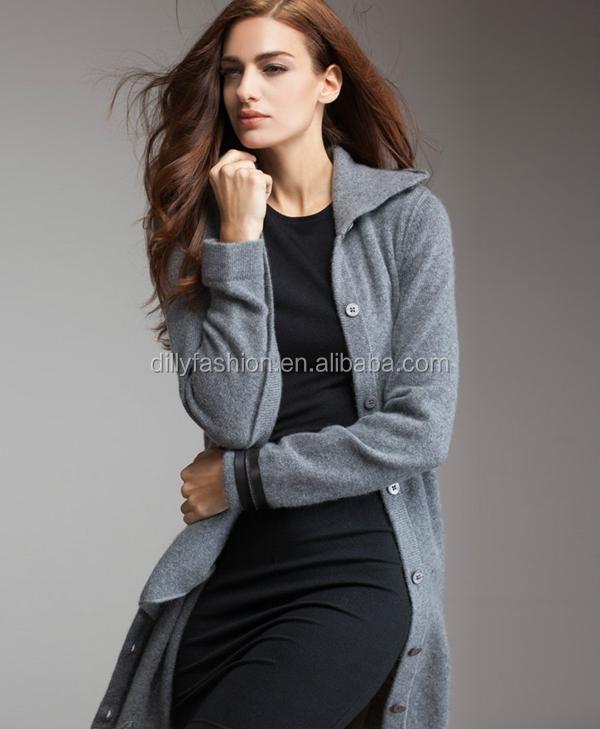 knitting pattern women winter long cashmere sweater coats, View ...