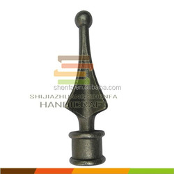 cast iron spears and finials for iron gate and fence