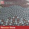 granite driveway mesh cobblestone paver