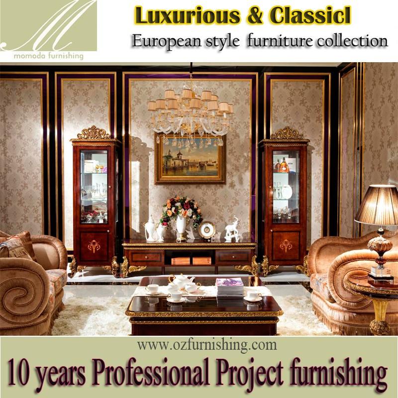 Awesome yb italie meubles classique acajou en bois dcoratif tv unit vin vitrine vitrine de luxe arbic with meuble italien de luxe