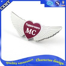 2015 hot buy cheap enamel custom metal brand badge