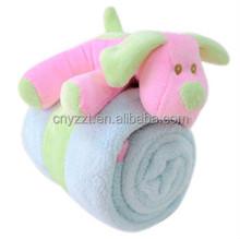 pillow blanket/2 in 1 pillow blanket for baby/blanket pillow