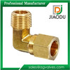 Forged 90 Degree Elbow Brass Compression Tube Fitting