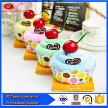 Alibaba wholesale lollipop shape towels for super market