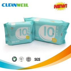 Chinese manufacture polyester nonwoven car interior clean wet wipes
