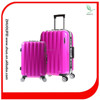 bright color pc abs aluminum trolley luggage for women