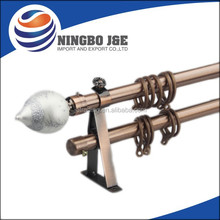 AC Electroplating Plain Iron Curtain Rod,curtain pole