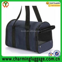 China alibaba reusable 420D polyester dog carrier bag pet