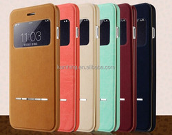 trending hot products 2015 express alibaba flip leather case for Samsung Galaxy S6 G9200