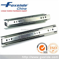 113kg Loading Capacity Three Sections Telescopic Channel Heavy Duty Steel Table Slide