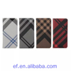 New products leather case for iPod touch 6 wallet cover stand flip case grid pattern protective case for Apple ipod touch 6