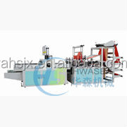 Automatic Cold Cutting T Shirt Shopping Bag Make Machine