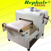 Plastic film and mental film corona processor