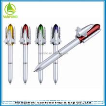 Good quality rocket shape ballpoint pen for promotion