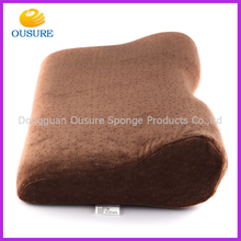 2015 Fashion Customized Memory Foam Sleeping Tube Pillow