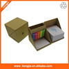 Memo note case/box with logo printed writing pad sticky notes and pet index