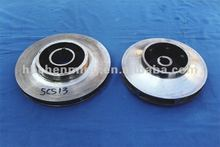 high quality stainless steel SS pump impeller