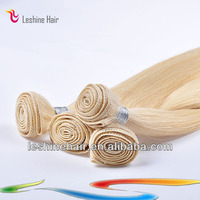 Wholesale 100% Human Blonde belle hair products