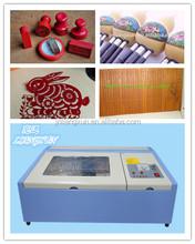 Rabbit LX40B mini stamp,rubber laser cutting and engraving machine
