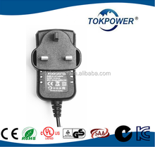 CE UL EN/IEC 60601 medical power adapter 5V 2A USB Wall Charger EU Wall Adapter 9V 3A Power Adapter For CCTV camera