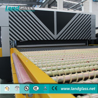 LandGlass Electricity Saving Flat Glass Toughening Machine Furnace