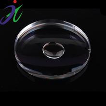 Alta cantidad de pmma lente óptica, claro esférica biconvexos lente, gafas de lectura de la lente