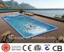 12 meter Liquid Acrylic Swimming Pool FS-P12